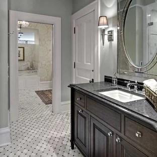 Woodshop | Houzz on Bathroom Ideas With Black Granite Countertops  id=40357