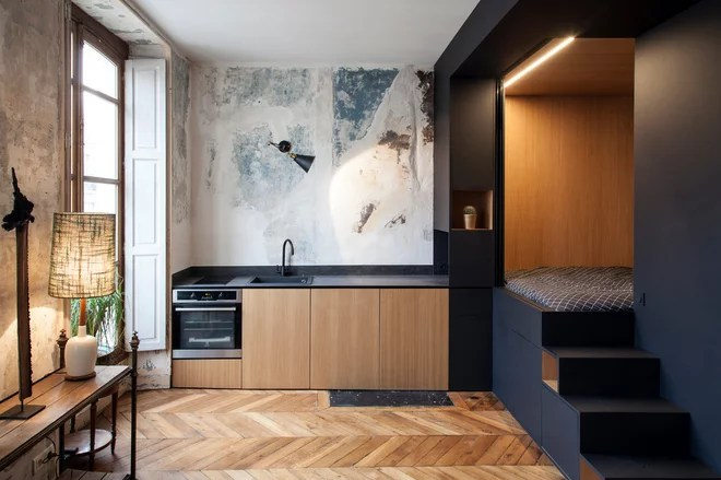 Eclectic Kitchen by Bertrand Fompeyrine Photographe