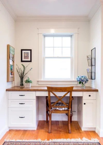 Beach Style Home Office by Dave Dellinger Photo