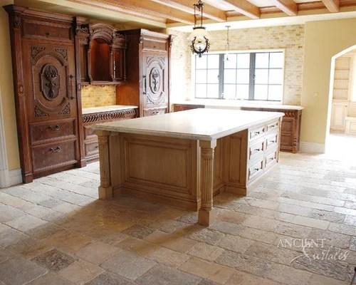 Kitchen Stone Flooring Houzz