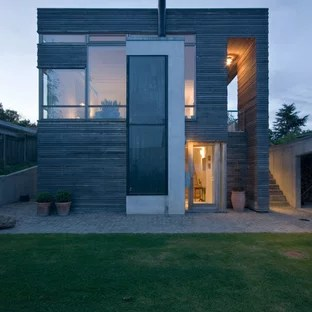 architecture facade villa moderne
