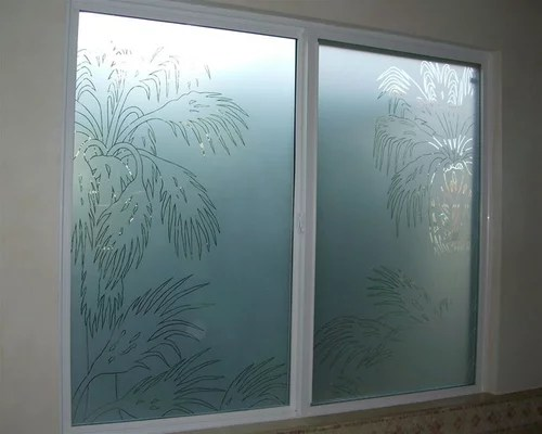 bathroom windows - frosted glass windows