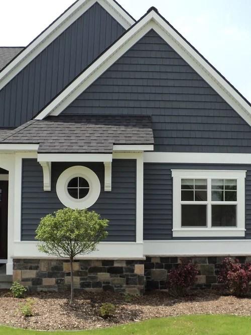 Vinyl Shake Siding Home Design Ideas, Pictures, Remodel ... on Modern Vinyl Siding Ideas  id=12617