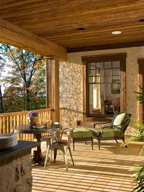 Rustic Veranda Home Design Ideas Pictures Remodel And Decor