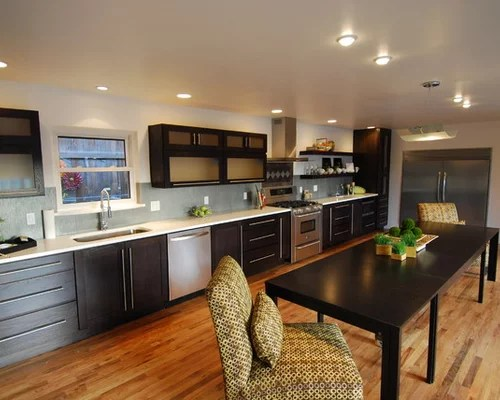 L Shaped Galley Kitchen