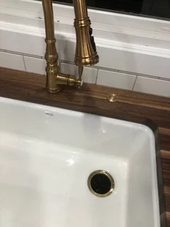with moen brushed gold