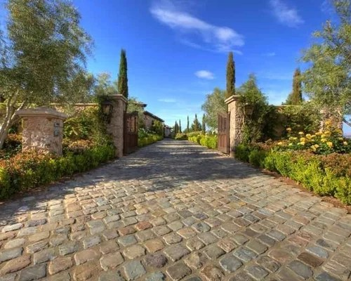 Tuscan Exterior Home Design Ideas