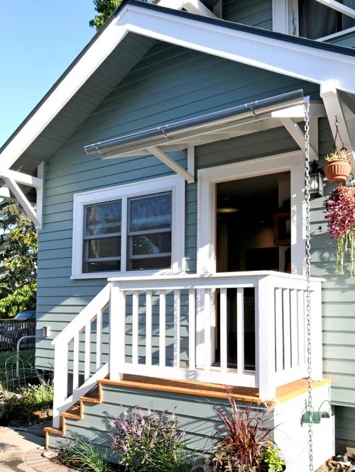 Small Back Porch Home Design Ideas, Pictures, Remodel and ... on Small Back Deck Decorating Ideas id=95602