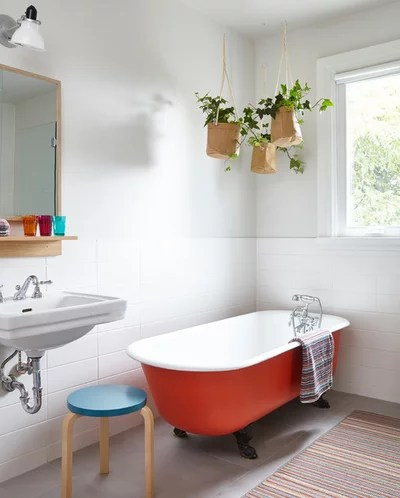 Scandinavian Bathroom by Lisa Lev Design