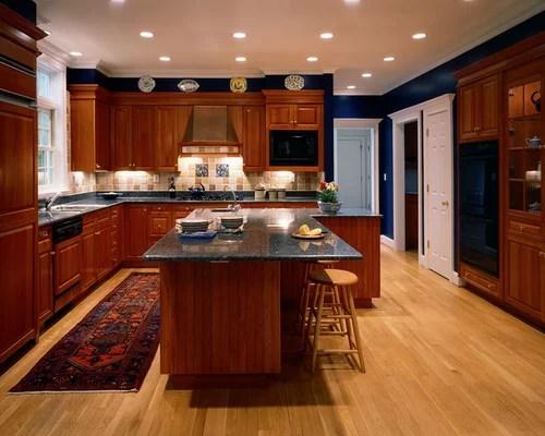 L Shaped Kitchen Island Houzz