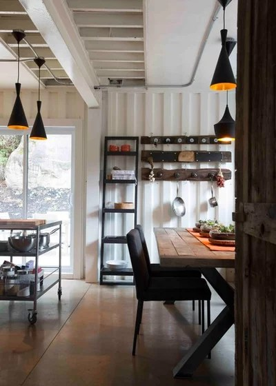 Industrial Dining Room by Les Collections Dubreuil