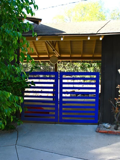 Horizontal Gate Ideas, Pictures, Remodel and Decor on Gate Color Ideas  id=89620