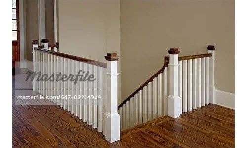 Help Stair Banister Color Rails Spindles | Banister Rail And Spindles | Square | Traditional | Carved Wood | Residential | Glass
