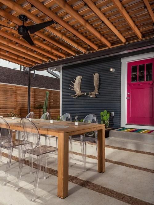 Patio Door Back Yard Home Design Ideas, Pictures, Remodel ... on Backdoor Patio Ideas id=92676