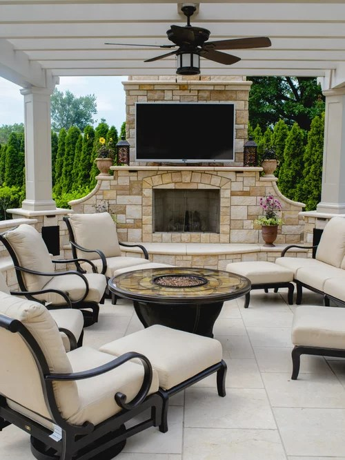 Modern Outdoor Living Space | Houzz on Houzz Outdoor Living Spaces id=63869