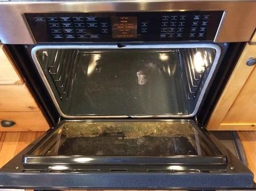 bosch oven door glass shattered during