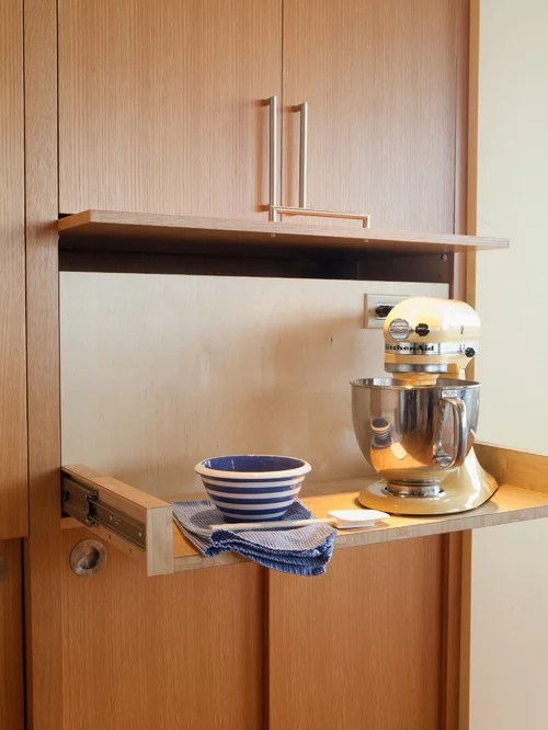 Pull Out Mixer Stand Home Design Ideas Pictures Remodel