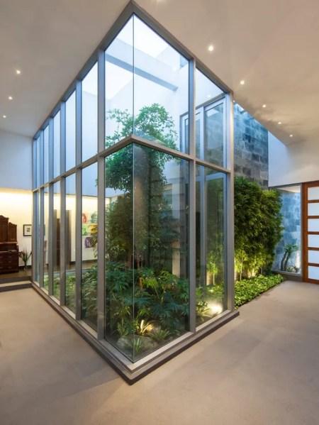 homes with indoor garden design ideas Atrium Home Design Ideas, Pictures, Remodel and Decor