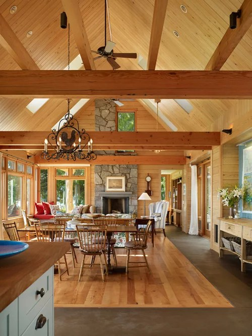 Open Rafter Ceiling Houzz