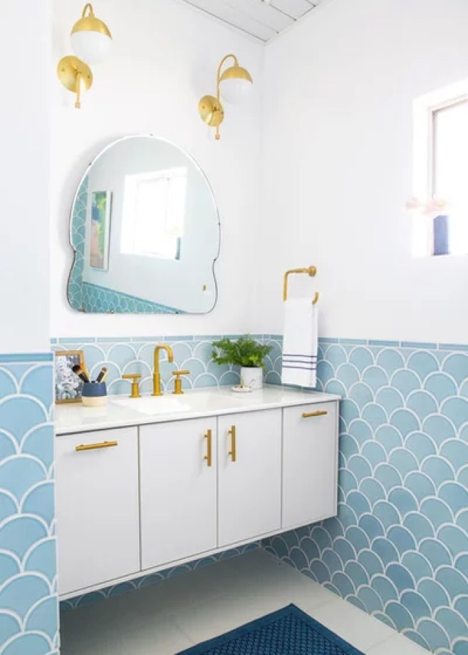 Transitional Bathroom by Fireclay Tile
