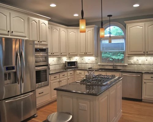 30 budget kitchen updates that make a big impact 30 photos. Kitchen Cabinet Refinishing Home Design Ideas, Pictures, Remodel and Decor