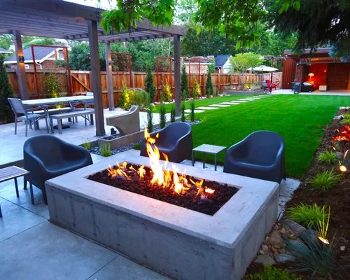 Modern Backyard Landscape Home Design Ideas, Pictures ... on Modern Backyard Landscape Ideas id=34188