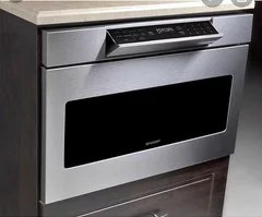 photo of sharp microwave drawer with