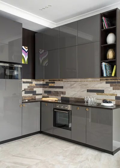 Contemporary Kitchen by Vera Tarlovskaya Interiors