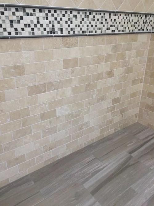 half wall tiles design for living room