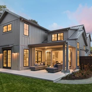 Board and Batten Siding Ideas | Houzz on Modern House Siding Ideas  id=59825
