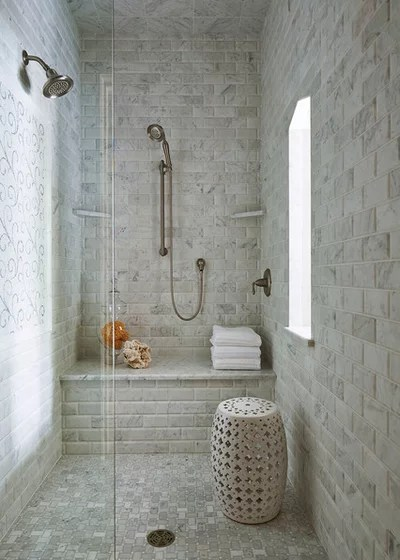 Traditional Bathroom by Martha O'Hara Interiors