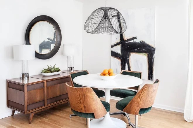Contemporary Dining Room by Marcel Page Photography
