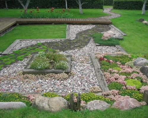 Rectangular Backyard Design | Houzz on Rectangular Backyard Design id=95802