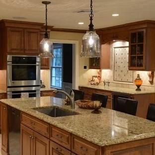 Granite Countertops Maple Cabinets | Houzz on Countertops That Go With Maple Cabinets  id=51543