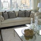 A Modern Gem Traditional Living Room New York By Christopher Burns Interiors