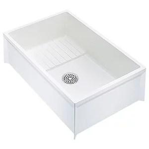 mustee 17w utilatub laundry utility tub