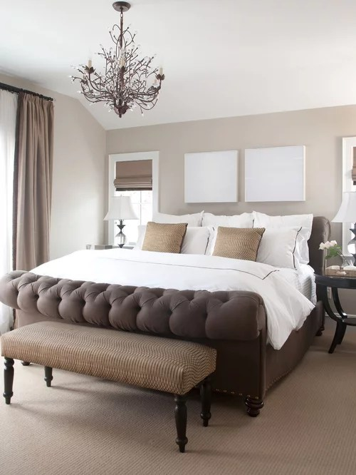 cream beige brown neautral tones bedroom ideas and photos | houzz