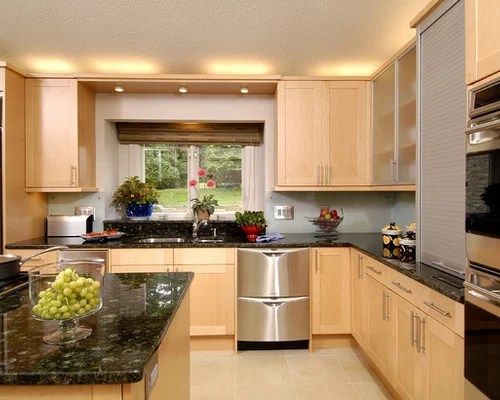 Contemporary U Shaped Kitchen