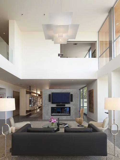 High Ceiling Living Room Design With Fantastic Ideas