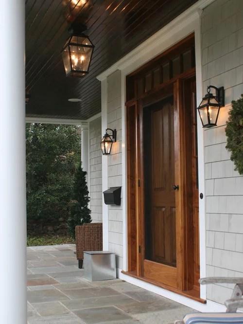 Wood Storm Door Home Design Ideas Pictures Remodel And Decor