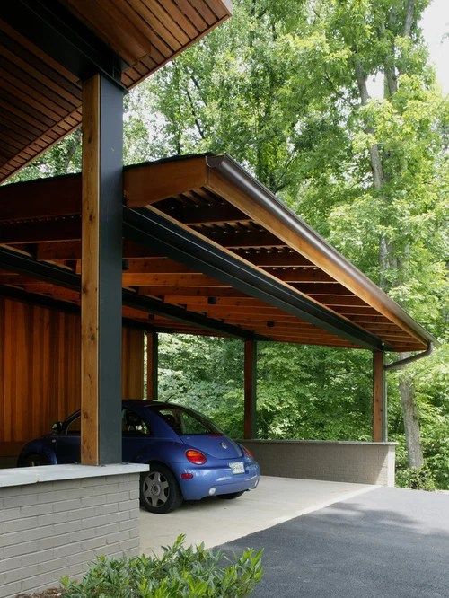 Attached Carport Houzz