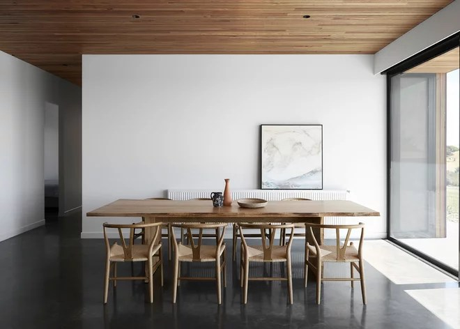 Contemporary Dining Room by Tom Robertson Architects