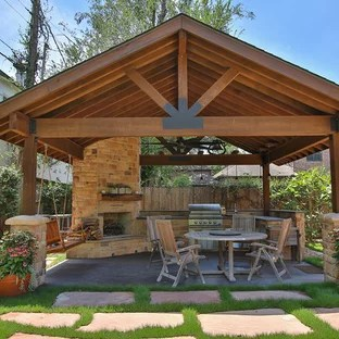 75 Most Popular Rustic Patio Design Ideas for July 2020 ... on Houzz Backyard Patios  id=82972