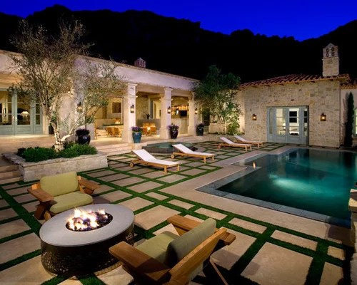 Outdoor Fire Pit On Unlevel Ground Home Design Ideas ... on Unlevel Backyard Ideas id=90709
