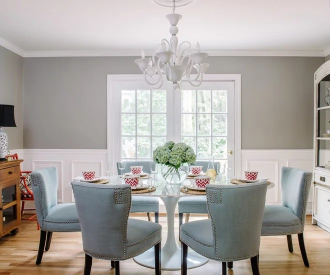 Eclectic Dining Room by Alison Giese Interiors