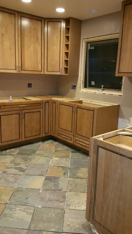 Granite Counter W Full Height Backsplash Help