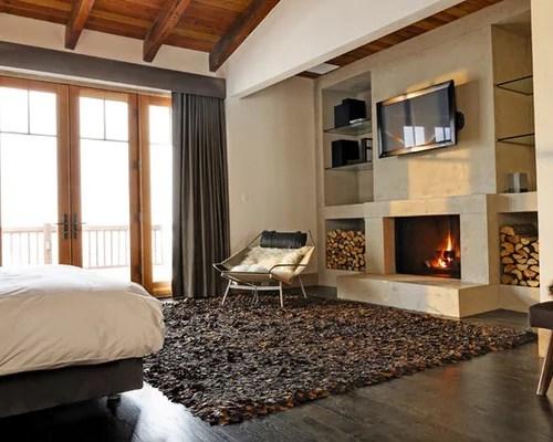 master bedroom fireplace | houzz