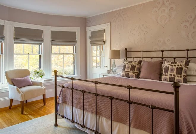 Transitional Bedroom by MANDARINA STUDIO interior design