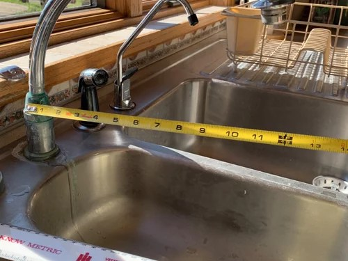 kitchen faucet replacement long reach