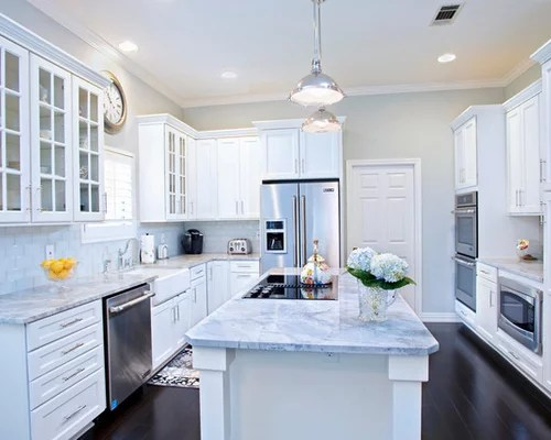 Carrera Marble Kitchen Design Ideas Amp Remodel Pictures Houzz